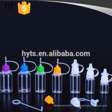 10ml 20ml 30ml e cigarette liquid bottle with dropper needle
