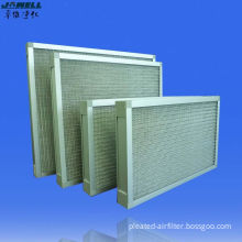 20 Pa Initial Resistance, High Efficiency Metal Mesh Air Filters With 125% Air Flow Rate