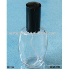 Botella de cristal de perfume 30ml / 50ml