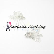 Новая мода высокое качество горячей продажи оптовые продажи шику блестящие красивые дешевые свадебные аксессуары для волос