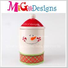 Heißer Verkauf Produkt Keramik Storege Glas mit Deckel