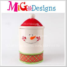 Hot Sale Product Ceramic Storege Jar with Lid