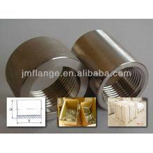 China Fabrik Edelstahl ss 304/316 Fass Nippel Rohrverschraubungen