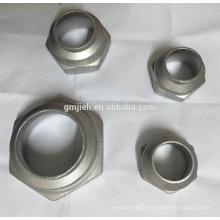 Raccord coulée en acier inoxydable 304 en acier inoxydable