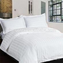 Tissu 100% coton, tissu satiné de coton, rayure de 3cm ou 1cm
