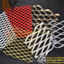 Aluminium erweitertes Maschendraht / Aluminium expandiertes Metallgewebe // Aluminium expandiertes Metallblech / expandiertes Metallgewebe / Rhombic geformtes erweitertes Ineinander greifen / dekoratives Ineinander greifen