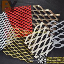 Malha de arame expandido de alumínio / Manga de metal expandido de alumínio // Folha de metal expandida de alumínio / Malha metálica expandida / Malha expandida em forma de Rhombic / Malha decorativa
