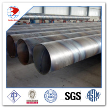 ST37-2 carbon steel SSAW pipe
