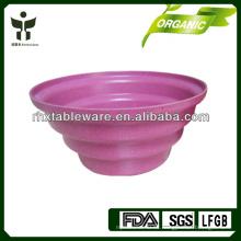 Maceta biodegradable natural / plantador de fibra vegetal de interior / exterior