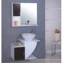 Armário de banheiro de madeira moderno (B-103)
