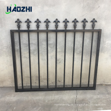 dekorative Aluminium-Zaun-Panel Schwimmbad geschweißten Design Pfeil