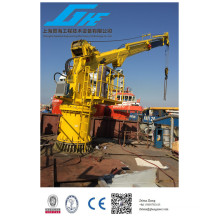 Grue marine offshore Pedestal