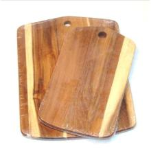 Good Quality for Wood Cutting Board Custom Acacia Chopping Block Sets with Hanging Hole export to Liberia Factory