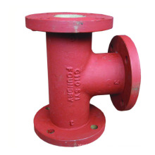 pn16 ductile iron flanged pipe fitting black iron pipe fittings