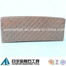 Diamond Aligned Tech Diamond Segment for Granite