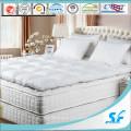 Мягкая белая гусиная пухляная подушка для матраса / верхний матрац