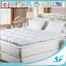 Matelas matelassé en mousse Soft White Down / Mattress Topper