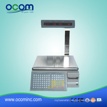 TM-AA-5D: 30kg electronic weighing scale with printer barcode