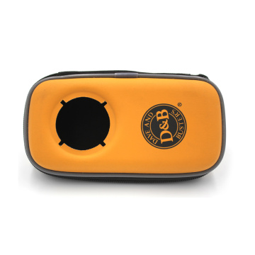 ODM OEM welcomed hard portable pu leather mini sport sound box