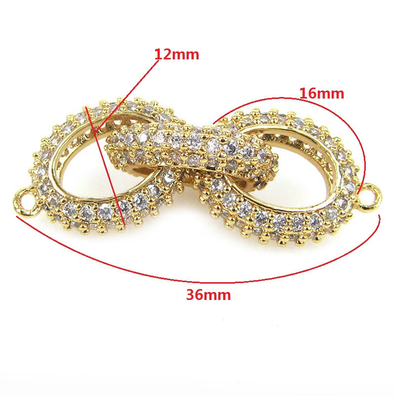 New Design Handmade Bead Bracelet Charms Fittings