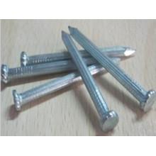 Clous en acier de haute qualité en béton avec queue de cannelure