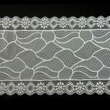 stretch lace; Material: Nylon lace:eco-friendly, customized designs and colors are accepted;New