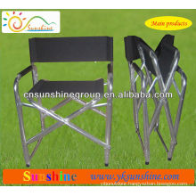Folding portable sport director chair for indoor and outdoor leisure