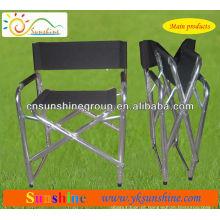 Cadeira de diretor de esporte portátil de dobramento para lazer indoor e outdoor