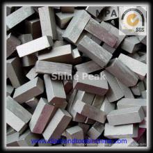 Лучшей производительности Алмазные пилы сегмент для резки базальта