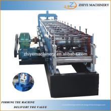 Metallstruktur c / z / u purlin Kaltumformmaschine, um c / z / u Form Pfetten zu machen