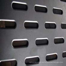 Agujero de perforación Hoja de malla metálica (malla de metal perforada)