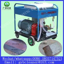 El óxido elimina el chorro de agua a alta presión