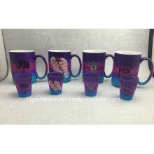 Spray Color Mug, Rainbow Color Mug, Promotional Mug Set