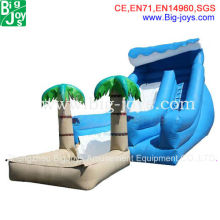 Best Price of Used Inflatable Water Slide, Well Design Big Kahuna Inflatable Water Slide