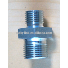 H.p. nipple 250 bar G3/8M-G1/4M, tropicalized steel