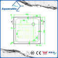 Санитарно площади изделий 2 стороны губы заднее отходы АБС душевой поддон (ACT1111)
