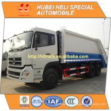 DONGFENG DFL 6x4 20 m3 camión de basura de carga trasera pesado C260 33 260hp