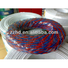 Annealed copper wire twisted 2 core pvc insulated wire