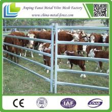 China Fábrica de ganado pesado Galvanizado Oval Ganado Panel