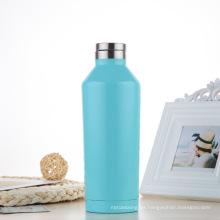Botella de agua moderna simple ancha del vacío del acero inoxidable del vacío