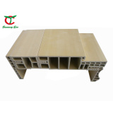 Wooden Colored WPC Door Frame in China (TCF-120E-50)