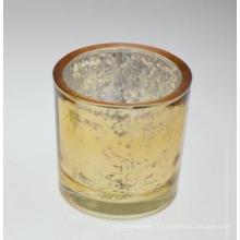 Nouveau bougeoir en verre de mosaïque design pour vacances