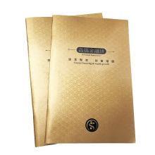 Impression de brochure adaptée aux besoins du client stratifiée par papier de papier offset