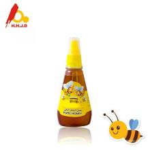 Miel de polyflower crudo en la cara