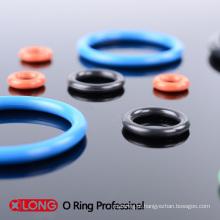 Anel de borracha colorido personalizado flexível do O para o mergulhador