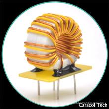 Т 8X4X3 проволоку медную 0.6 мм DC низкое сопротивление переменной 100uh 3А Тороидальный Индуктор катушки для зарядного устройства