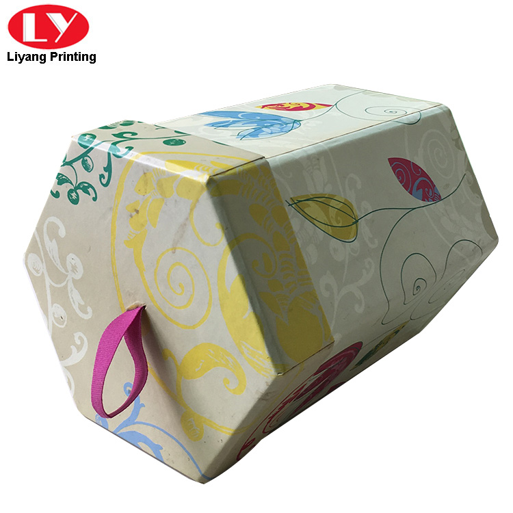 Hexagonal Gift Box 2