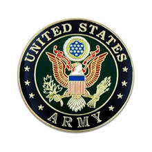 Military Lapel Insignia Pin with Gold Plated