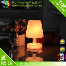 Glühende LED Tischlampe
