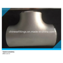 Stainless Steel Tee Butt Welding ANSI Pipe Fitting